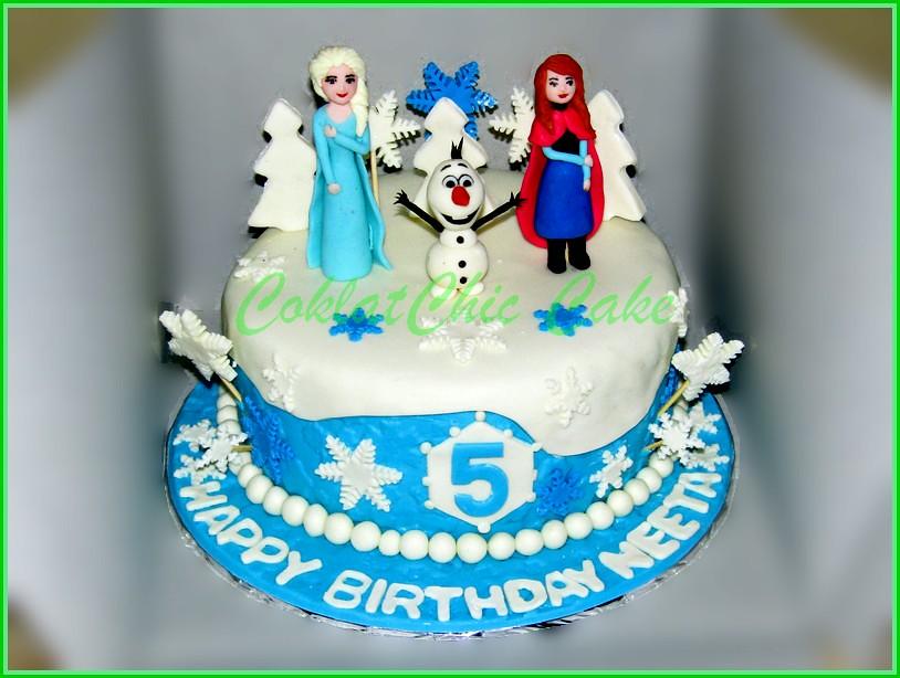 Cake Disney Frozen NEETA 15 cm