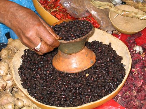 Mexico - San Cristòbal de Las Casas - Venditrice di formiche