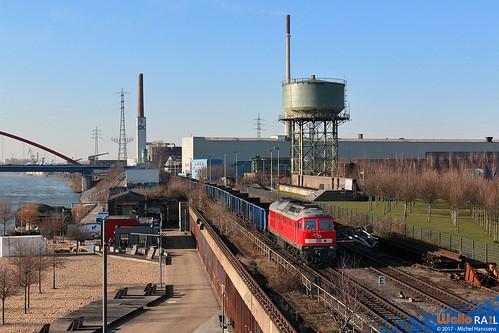 Duisburg-Hochfeld. 19.03.18