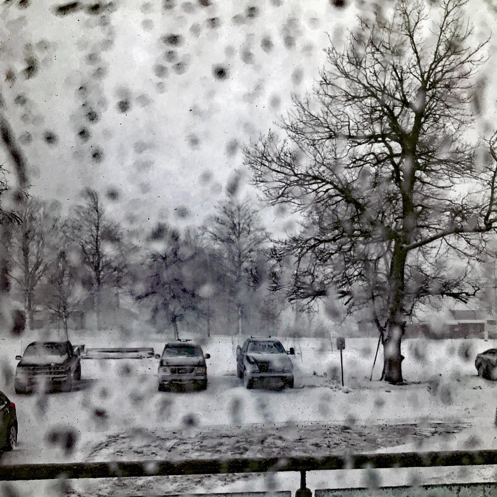 Annapolis Royal -- Spring Snowstorm