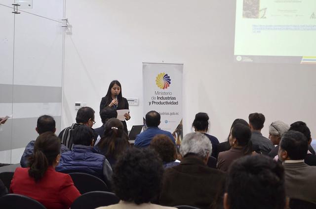 MIPRO dictó taller sobre las perspectivas e innovación en la producción de derivados del cacao.