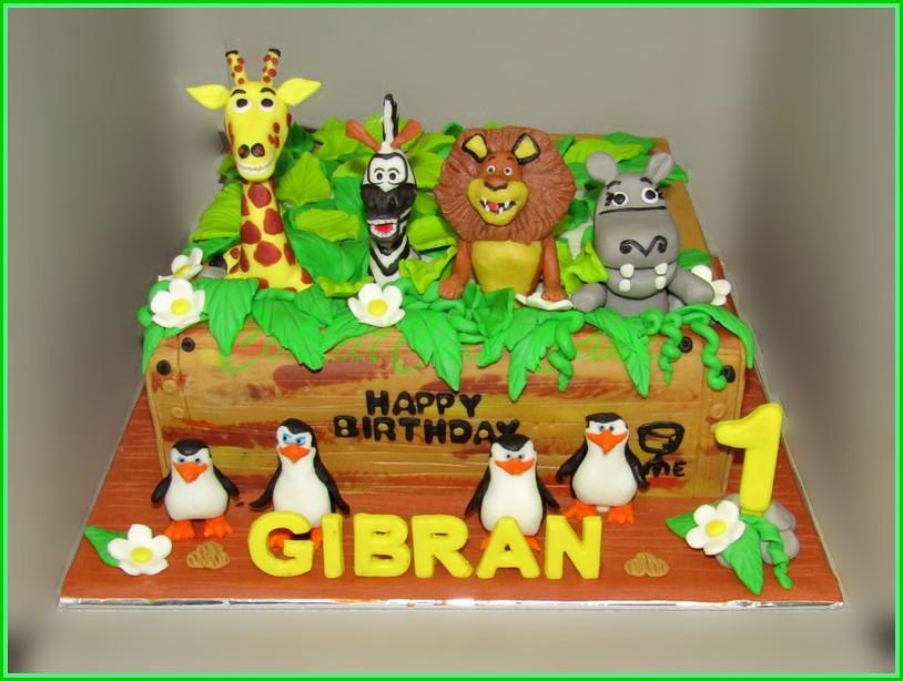 Cake Madagascar GIBRAN 24 cm