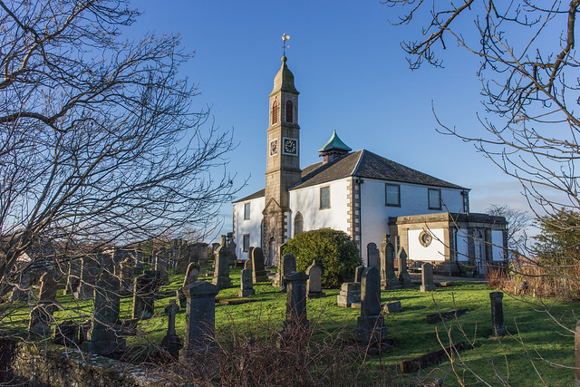 Mearns Parish Kirk, Canon EOS M, Canon EF-M 18-55mm f/3.5-5.6 IS STM