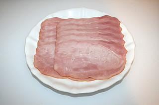 03 - Zutat gekochter Schinken / Ingredient cooked ham