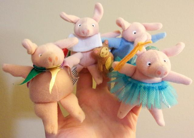Piggies Finger Puppets