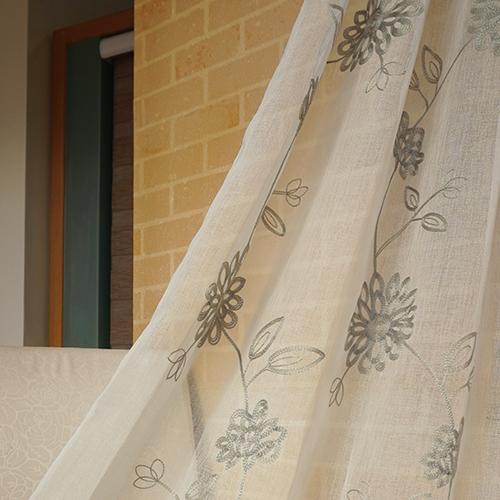 綻露 簡約繡花 展覽場裝飾佈置 新娘禮服服裝裝飾布料 DB1690015