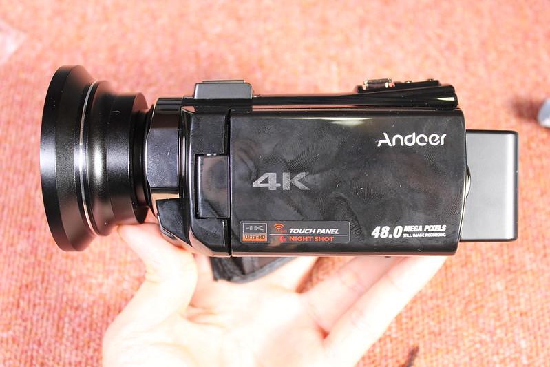TOMTOP Andoer 4K ビデオカメラ 開封レビュー (90)