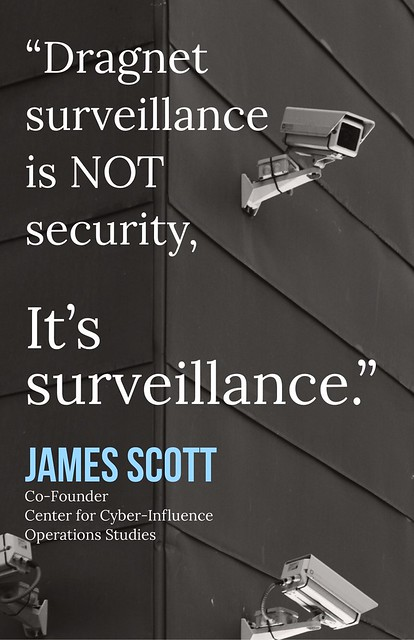 Dragnet surveillance is NOT security
