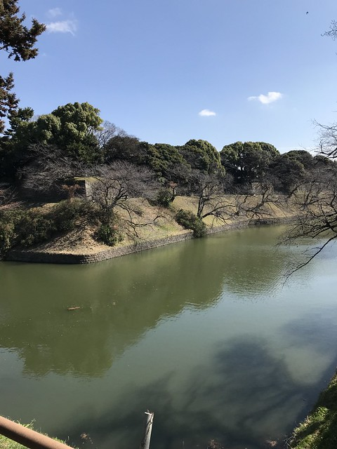 Moat surrounding the Imperial Castle