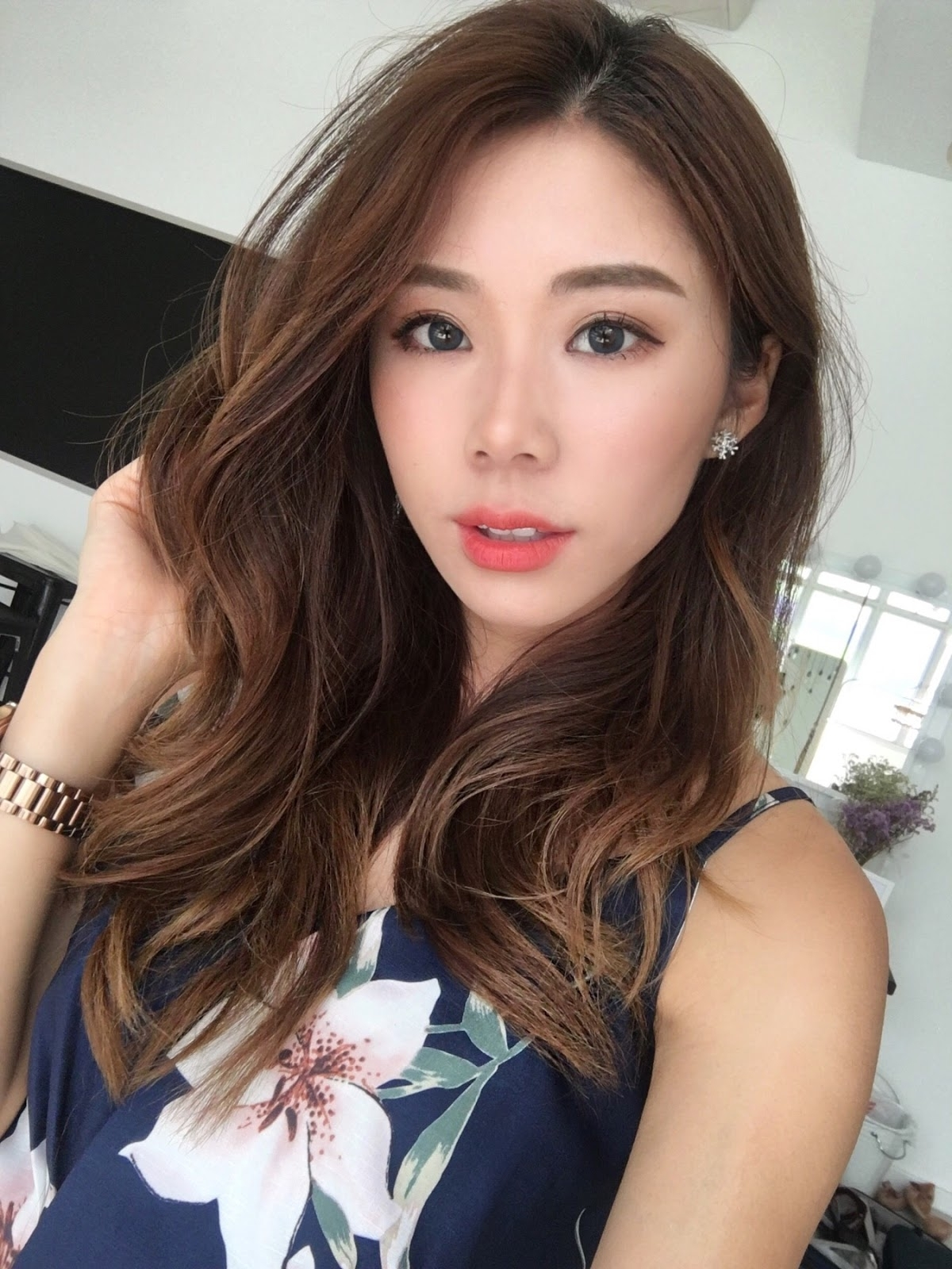 21 korean girl long hair wavy hairstyle for 2018 2019 nails c photos selections within our very best pictures gallery about choicest leading style 22 korean girl long hair wavy hairstyle lets hope you can as it voltagebd Images