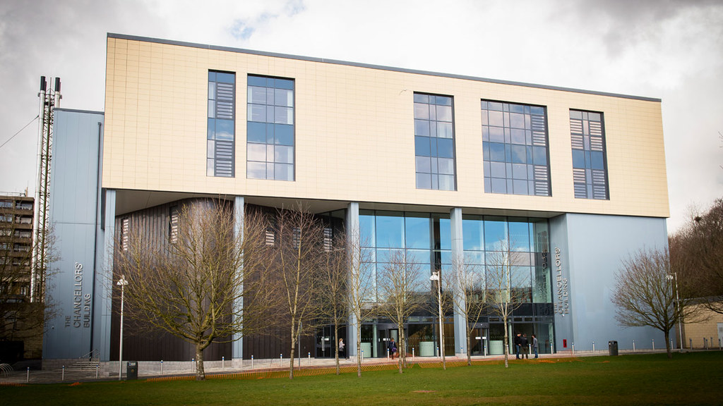 Chancellors' Building external view