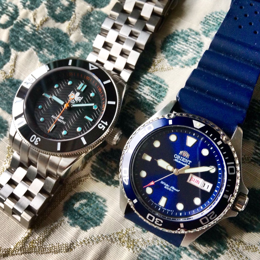 Phoibos Wave Master Orient Ray 2 Russian Chinese Watches The
