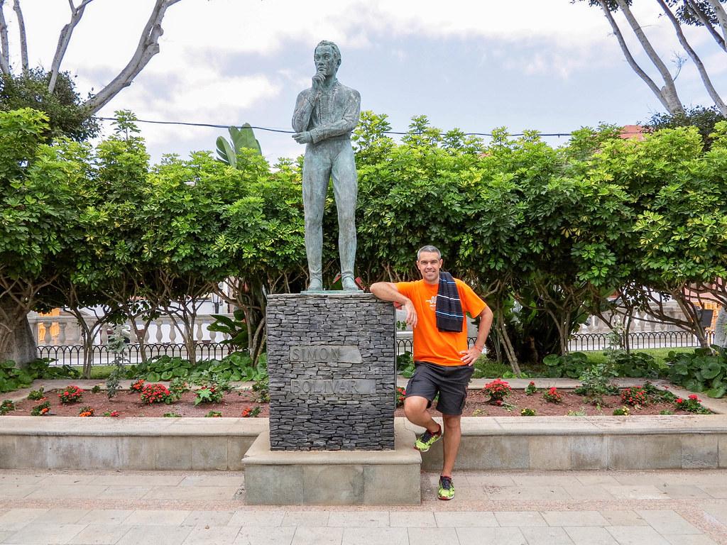 Busto a Simón Bolívar