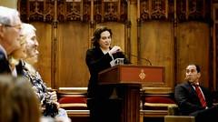 dt., 13/03/2018 - 15:47 - Ada Colau assisteix a la presentació del 66è Trofeu Comte de Godó