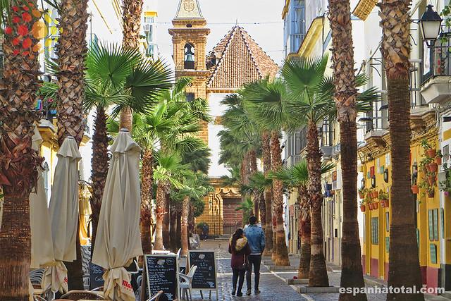 se locomover em Cádiz
