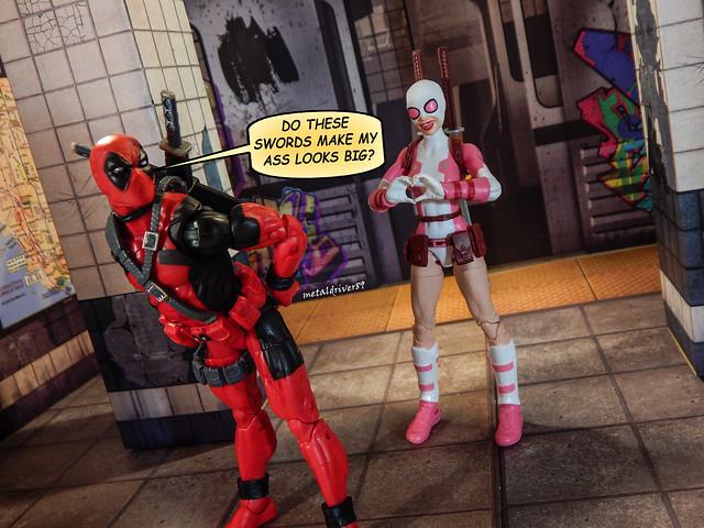 Deadpool's ass