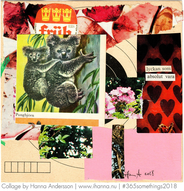 Cling to Happiness - Collage nr 41 by iHanna #365somethings2018 #collage
