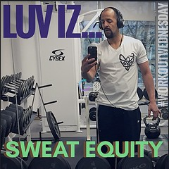 LUV iz... breakin' a sweat