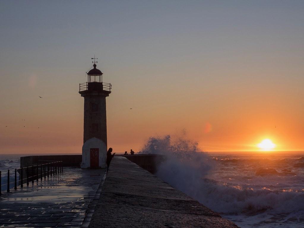 Sunset Porto