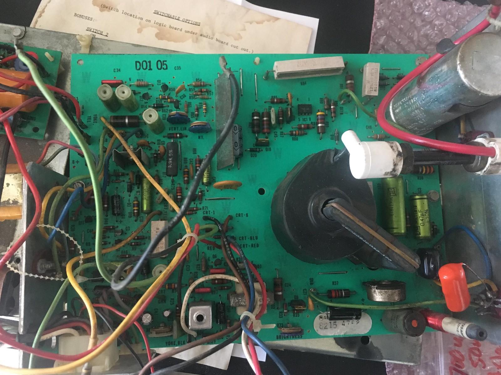 19 inch B&W Motorola Horizontal Collapse - Page 2 - KLOV/VAPS Coin ...