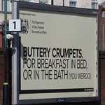 Walsall Station - billboard - Buttery Crumpets