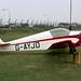 Alpavia Fournier RF-3 G-AYJD Portsmouth 29-8-72