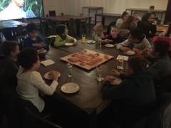 Pizza und Bowling