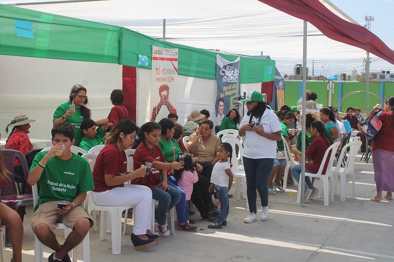 Festival de la Mujer Tambeña se vivió en Cocachacra, Deán Valdivia y Punta de Bombón