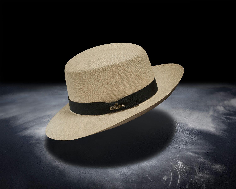 Optimo Montecristi straw hat from Ecuador.