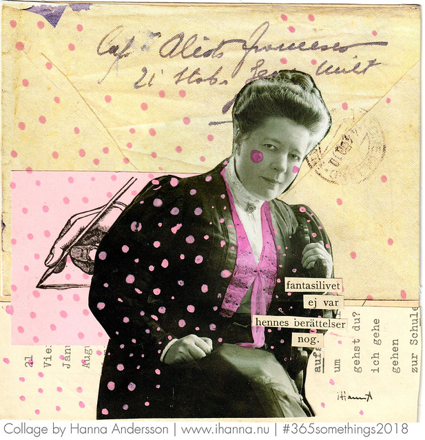 Write me a letter darling - Collage 29 by Hanna Andersson aka iHanna #365somethings2018 #collage #art