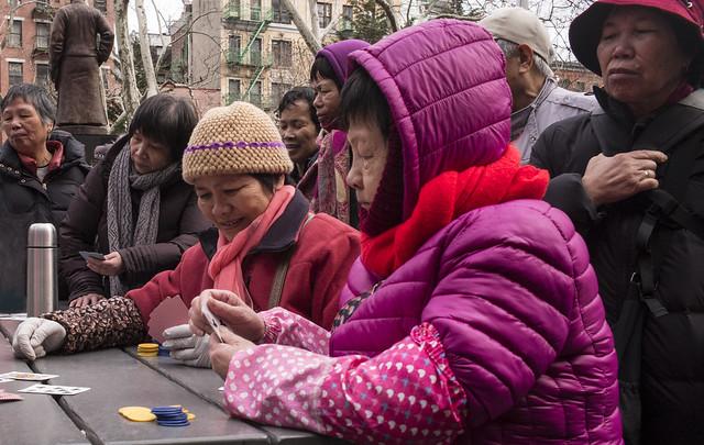 Card Players, Columbus Park