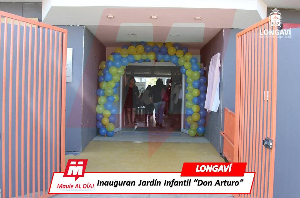 "LONGAVÍ; Inauguran Jardin Infantil Junji ""Don Arturo"""