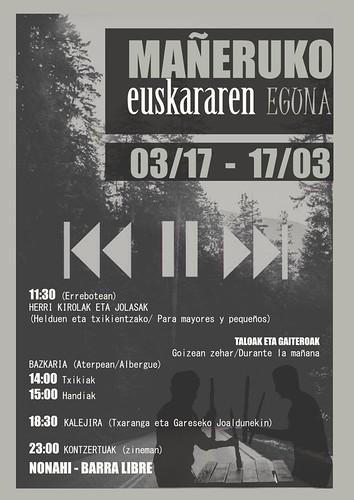 Mañeruko Euskararen Eguna