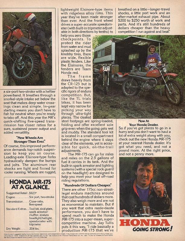 Honda MR175 Jay Tullis 2