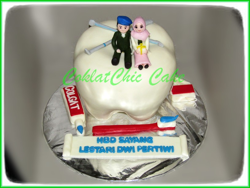 Cake Dentist Lestari Jual Kue Ulang Tahun