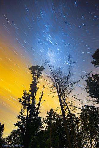 milkyway stars trails night longexposure color nightphotography