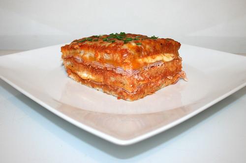 41 - Sandwich-Lasagne - Seitenansicht / Side view