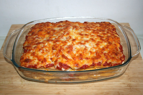 38 - Sandwich-Lasagne - Fertig gebacken / Finished baking