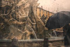 Bernini's Rain