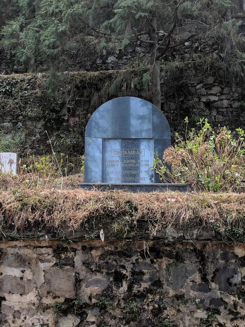 The Chitambar Family Grave, Landour Christian Cemetery