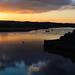 Exe sunset, river reflections, iii
