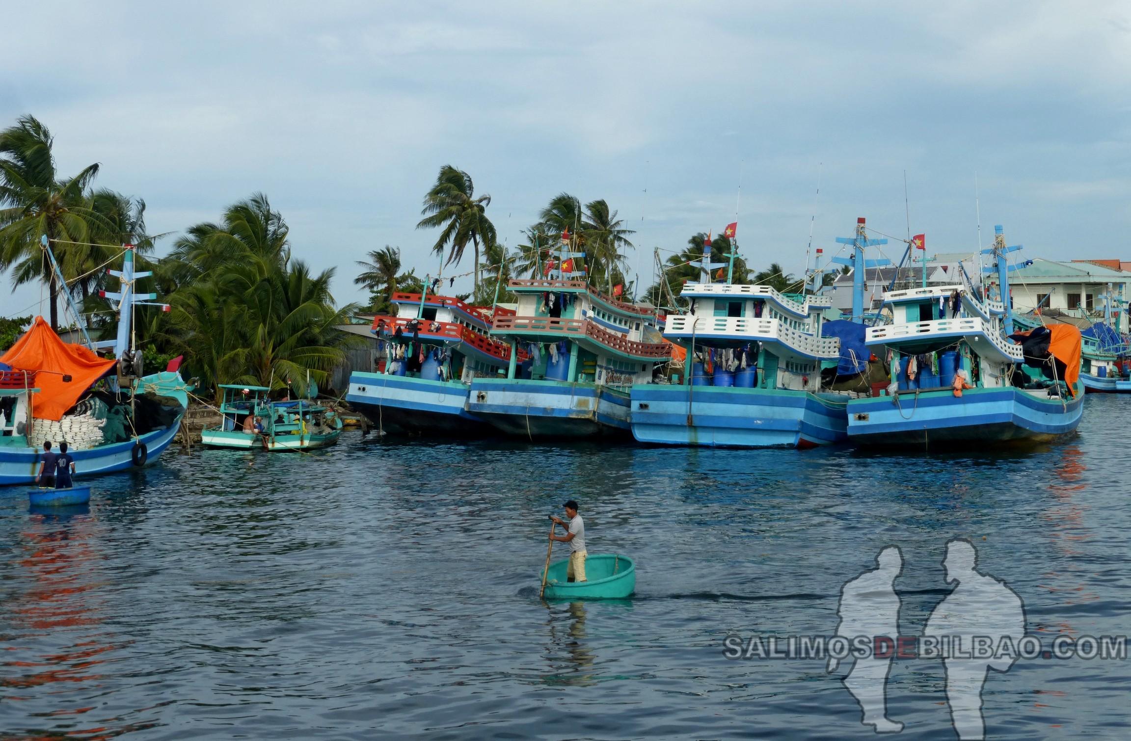 0067. Excursión al norte, Puerto de Duong Dong, Phu Quoc
