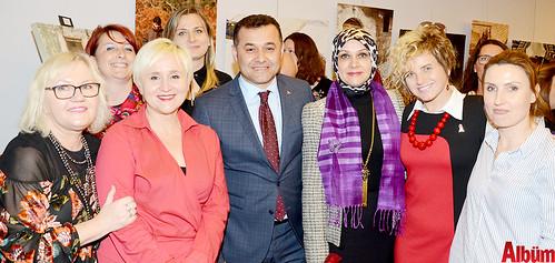 Dünya kadınları Alanya'daki sergide buluştu-8