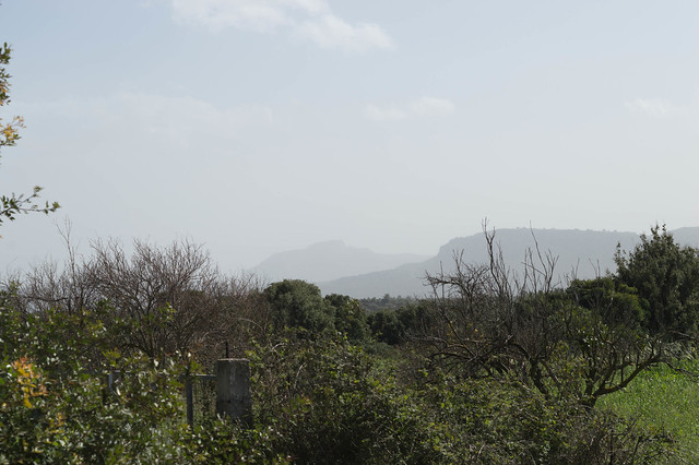 Αφρικανική σκόνη πάνω από την Ψίνθο