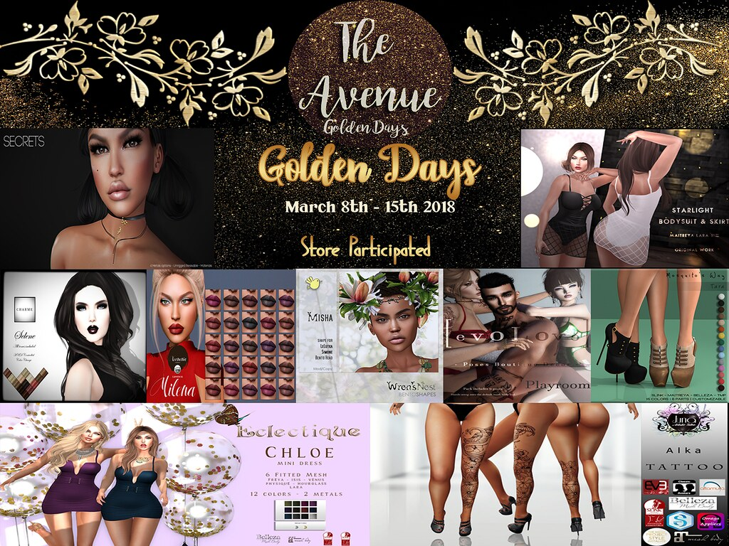 The Avenue Golden Days March 8th - 15th Round - TeleportHub.com Live!