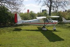G-CDYO Ikarus Comco C-42 [0604-6810] Popham 020509