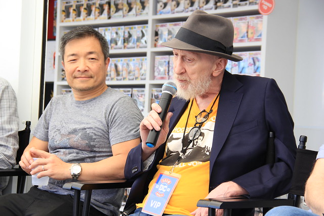 Jim Lee and Frank Miller at SXSW 2018