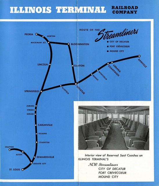 Illinois Terminal Railroad 1949 Schedules [page 4]