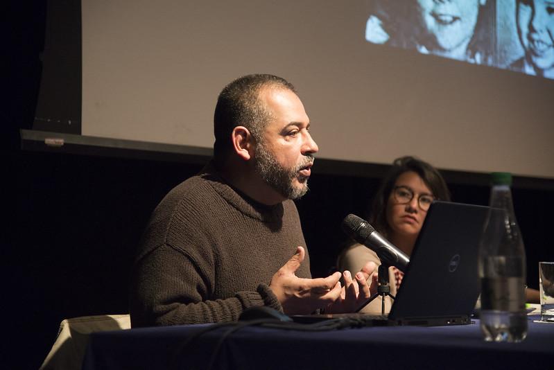 El escritor Mario Mendoza nos acompañó en el Poli
