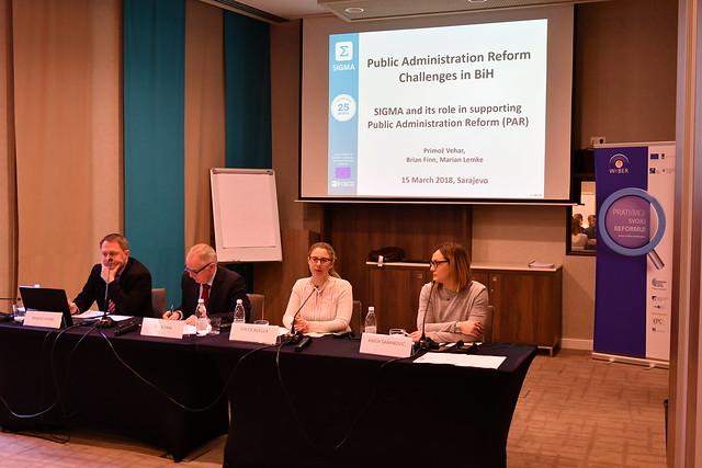 Predstavljanje SIGMA/OECD i WeBER monitoring izvjestaja